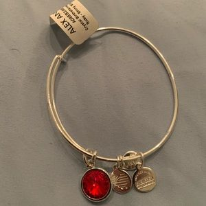 Brand new with tags Ruby Alex and Ani bracelet